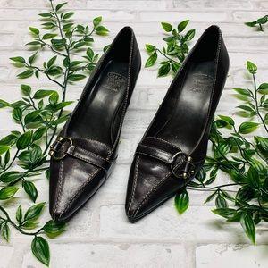 Joan & David Circa kitten heels